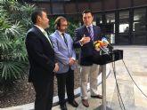 El alcalde de San Javier defiende la oportunidad de  los fondos EDUSI para seguir vertebrando La Manga como un conjunto