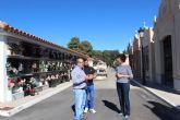 El Ayuntamiento de Puerto Lumbreras prepara el Cementerio para el Día de Todos los Santos
