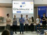 Los estudiantes del Conservatorio llevan a los institutos su experiencia europea con 'Erasmusic+'