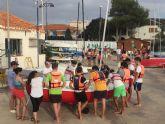 Charla de educación ambiental en el club de regatas de bahía