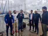 Un total de 50 participantes en la primera jornada de limpieza de los fondos del puerto deportivo y pesquero de Cabo de Palos