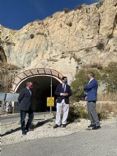 Fomento invierte más de 1,4 millones para mejorar la seguridad vial de tres carreteras regionales que discurren por el Valle de Ricote