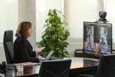 Isabel Franco se reúne por videoconferencia con el Comité Español de Representantes de Personas con Discapacidad CERMI