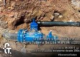 Comienzan las obras de reposición en la tubería de los Marcos, en el Raiguero Bajo