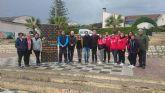 Campos del Río camina para ayudar a desarrollar la cartera de servicios que presta la delegación de D´Genes en este municipio