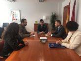 El Alcalde de Torre Pacheco se reúne con el Consejero de Salud