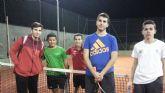 5º encuentro de liga del Club de Tenis Kuore, que vence al el Club de Tenis Monteagudo