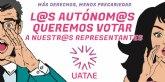 50 taxis de Caracol y Élite se suman a UATAE en la campaña ´Un autónomo/a, un voto´, por una representatividad democrática