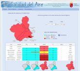Activados el Nivel 3, de Alerta, en Alumbres, Mompeán y Valle de Escombreras, y 2, Correctivo, en La Aljorra, por partículas en suspensión