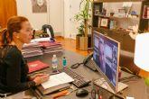 La alcaldesa expone las actuaciones en Responsabilidad Social Corporativa del Ayuntamiento en una Mesa Redonda de la UMU