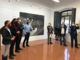 Virtoc muestra sus obras de gran formato realizadas mediante las técnicas pictóricas del arte urbano en el Laboratorio Artístico del Carmen
