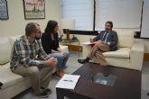 El consejero Pedro Rivera se reúne con la alcaldesa de Santomera
