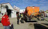 La Concejalía de Servicios acomete el asfaltado de los viales del polígono industrial de El Búho