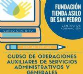 Los jovenes desempleados podran acceder a un Curso de Operaciones Auxiliares de Servicios Administrativos y Generales