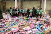 La campaña de recogida de juguetes del Ayuntamiento vuelve a ser un exito de solidaridad