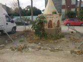 Cambiemos Murcia denuncia el estado de abandono del pozo artesiano de Zarandona