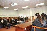 Alumnos de Derecho de la UCAM representan uno de los grandes juicios de la humanidad, los procesos de Nuremberg