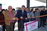 El alcalde destaca la creación de empleo que generan las nuevas inversiones como la gasolinera inaugurada hoy