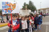 Alumnos del colegio Purísima Concepción suman kilómetros solidarios para la ONG Save the Children