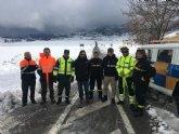 Los quitanieves de la Comunidad trabajan para garantizar la circulaci�n en las carreteras regionales