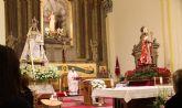La parroquia de Santa Eulalia celebra la Candelaria, San Blas y la fiesta de su titular