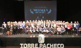53 entidades ciudadanas del municipio reciben la Medalla de Plata Villa de Torre Pacheco