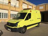 Recepcionan el nuevo vehículo para emergencias sanitarias Ambulancia tipo UVI móvil para el Ayuntamiento de Totana