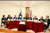 La alcaldesa asistió al acto togado del Colegio de Procuradores de Cartagena