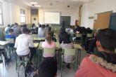 Los alumnos del IES Galileo asisten al encuentro ´Deporte+Nutrición=Salud´