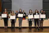 La UMU premia la excelencia de sus estudiantes y la dedicación del personal de la institución en el acto de Santo Tomás de Aquino