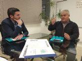 Juan Pagán ha mantenido una reunión con Antonio Luengo, Consejero de Agua, Agricultura, Ganadería, Pesca y Medio Ambiente, para tratar temas importantes para Totana