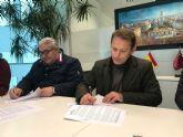El Ayuntamiento y la Asociación Amigos de la Música de Torre Pacheco firman un nuevo convenio de colaboración