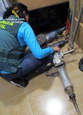La Guardia Civil detiene a los 13 miembros de un experimentado grupo criminal dedicado al robo en viviendas de San Javier