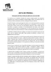 Valoraci�n del Pleno Ordinario del 26 de enero de 2021. IU-verdes Alhama de Murcia
