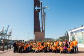 Un grupo de 125 mayores inician su peregrinacion a Caravaca desde Cartagena