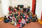 Mas de medio centenar de escolares del colegio Anibal de Los Mateos visitan al alcalde en el Palacio Consistorial