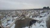Pedro Antonio Sánchez anuncia una línea de ayudas para reparar daños en las explotaciones agrícolas afectadas por las nevadas