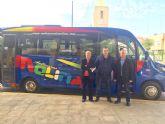 La flota de los autobuses urbanos de Molina de Segura se refuerza y moderniza con un nuevo vehículo