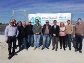 Una nueva balsa de regulación permitirá optimizar los recursos hídricos a 320 regantes de Fortuna