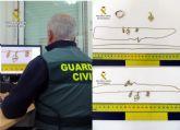 La Guardia Civil detiene a tres jóvenes por el robo con violencia en el domicilio de una septuagenaria