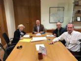 Reunión de trabajo entre el Ayuntamiento, comerciantes y la Dirección General de Comercio