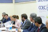 La alcaldesa asiste al Comité Ejecutivo de COEC