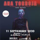 ANA TORROJA vuelve a Murcia en la Feria de Septiembre