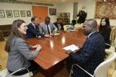 La Universidad de Murcia recibe al embajador de Haití en España para impulsar acuerdos de cooperación