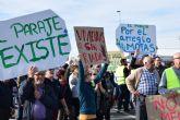 La Asociación de Vecinos del Paraje convoca una manifestación ante el ayuntamiento de Alguazas para el sábado 29 de febrero