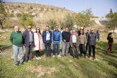 El Ayuntamiento de Caravaca continúa las Jornadas Escolares de Reforestación en 'La Muralla' de Archivel