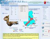 Lorca registra un incremento de los niveles de PM10 debido a una fuerte intrusión de polvo sahariano que afecta a la Región