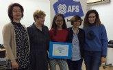 Una joven de Puente Tocinos recibe una beca para estudiar un curso escolar en Polonia