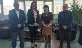 Reunión del Alcalde y la Vicepresidenta de la CARM