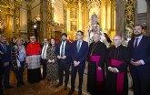 La imagen restaurada de la Fuensanta 'podrá cumplir con la tradición de estar con los murcianos en Cuaresma, Semana Santa y Fiestas de Primavera'